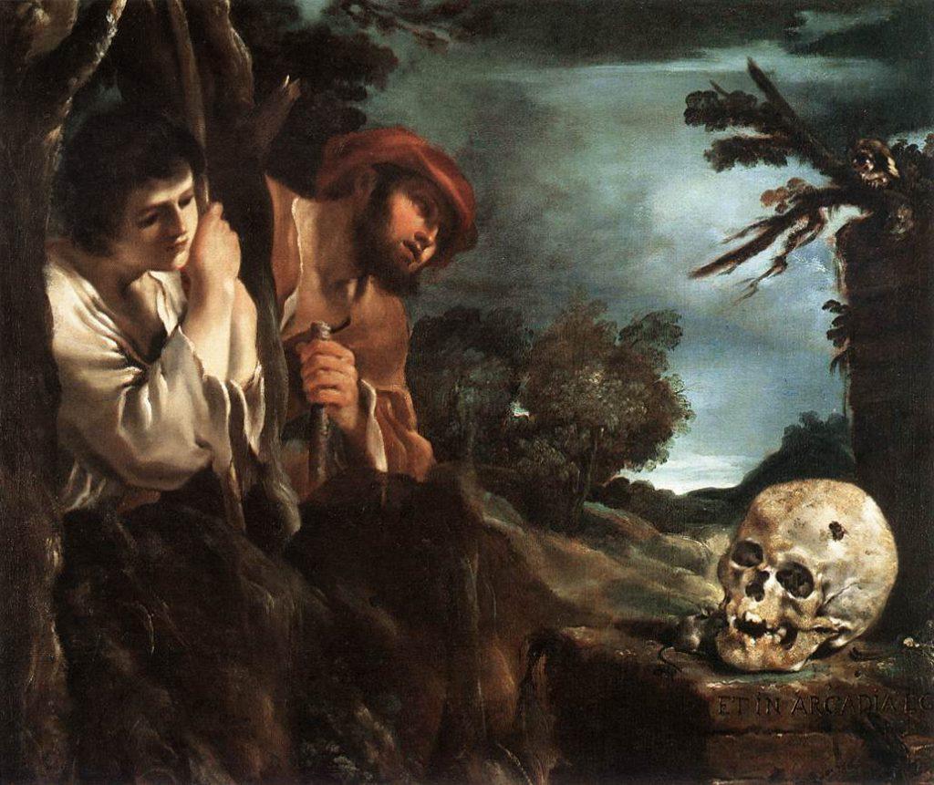 Målning av Guercino