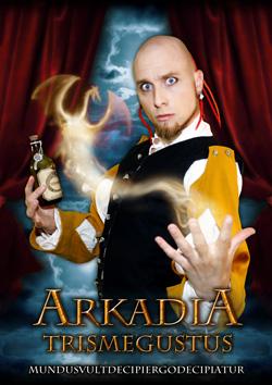En gammal bild på mig som Arkadia