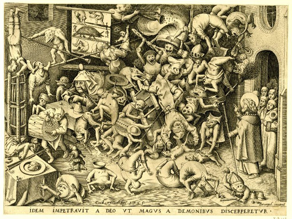 "Peter Bruegels ""The Fall of the magician"""