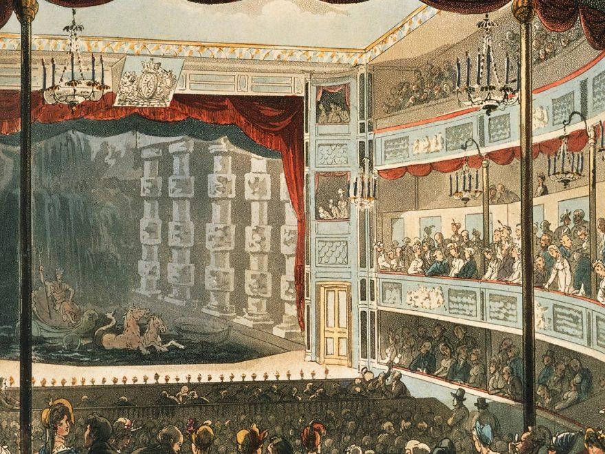 En teater från 1800-talet