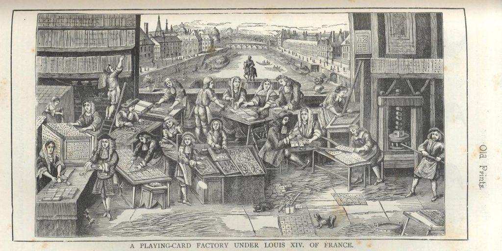 Kortfabrik 1600-tal