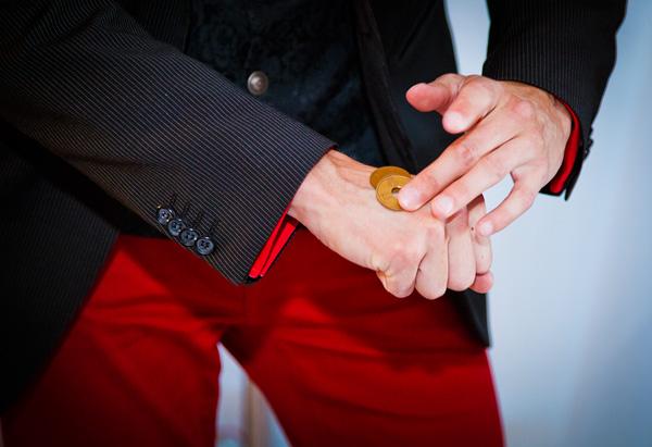 Mynttrolleri på Arkaidas hand