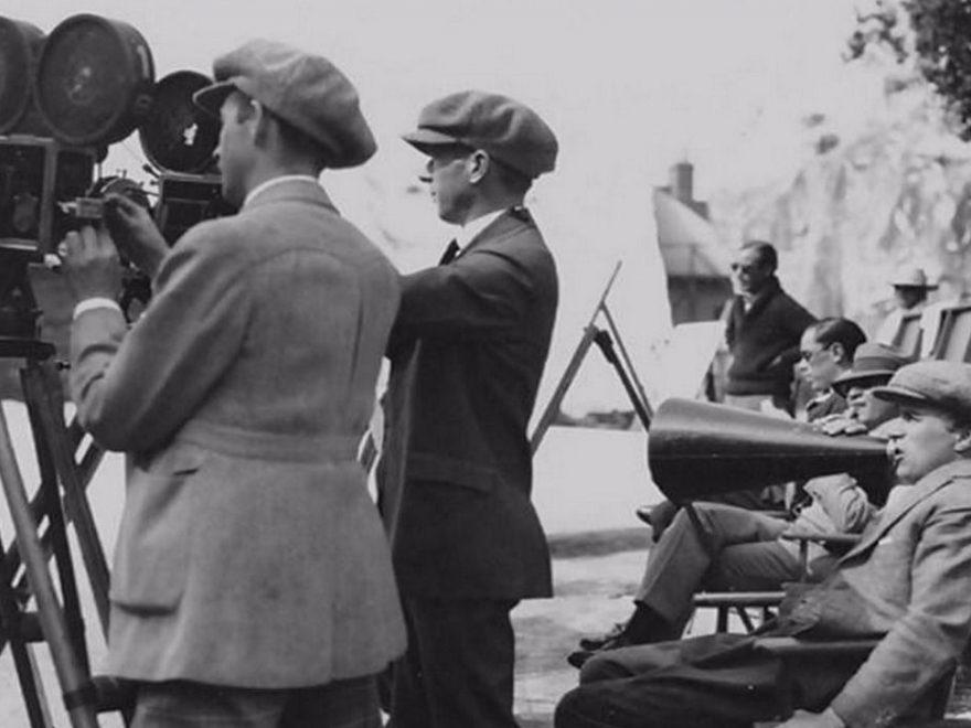Charlie Chaplin regisserar